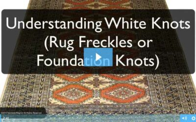 White Knots In Your Rugs