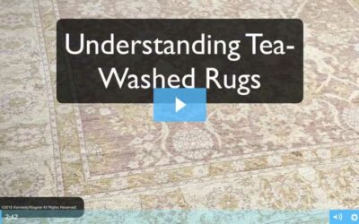Understanding Tea Washed Rugs